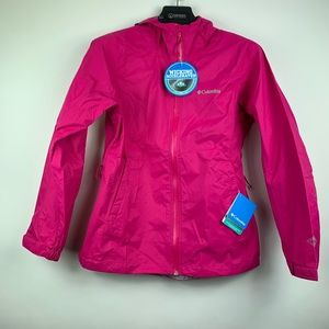 Columbia Women EvaPOURation Omni-Tech Jacket Small